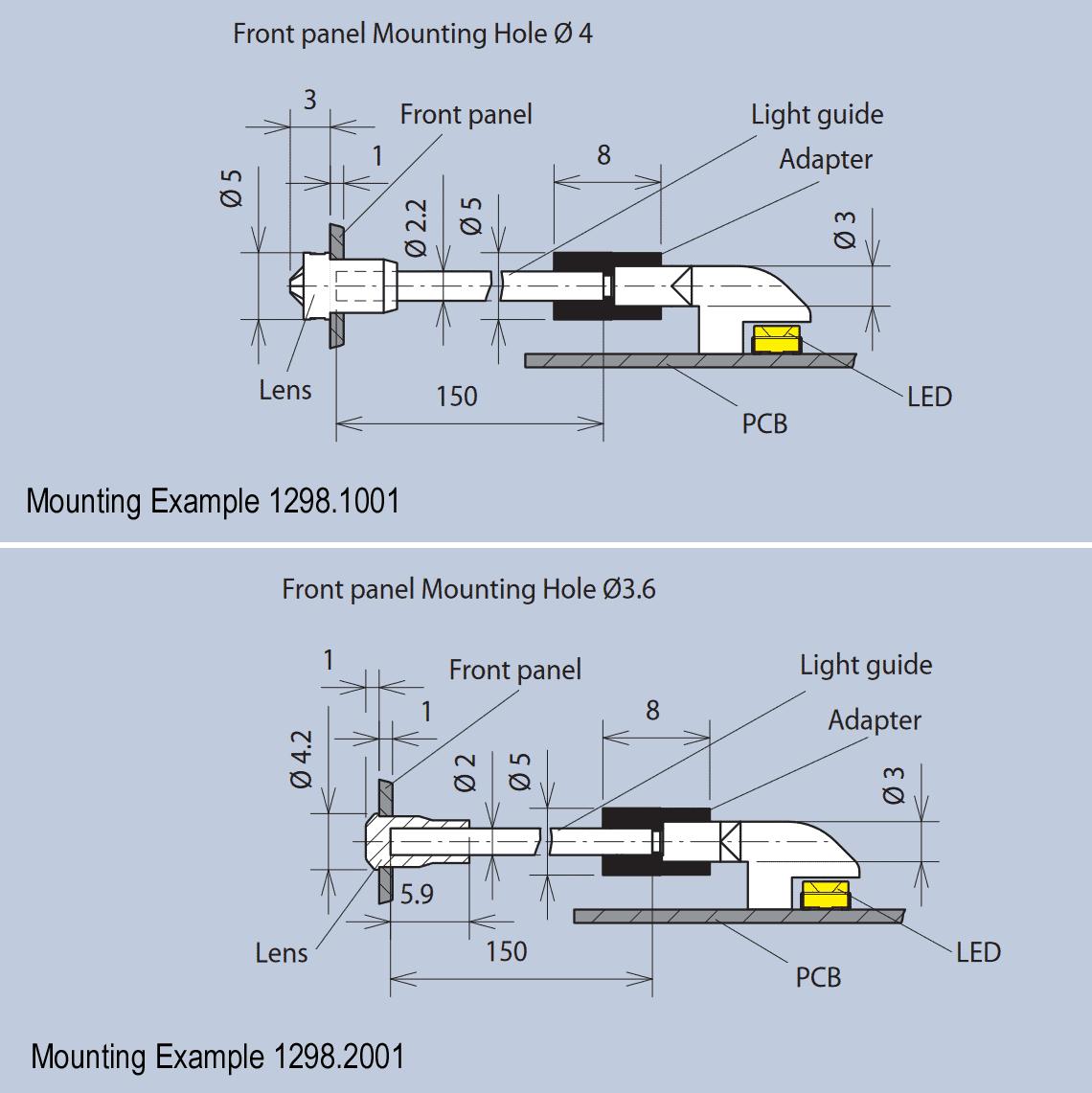 Light Guide Length Extender