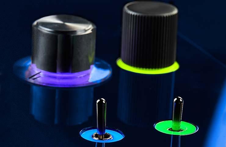 circular / ring light guides examples