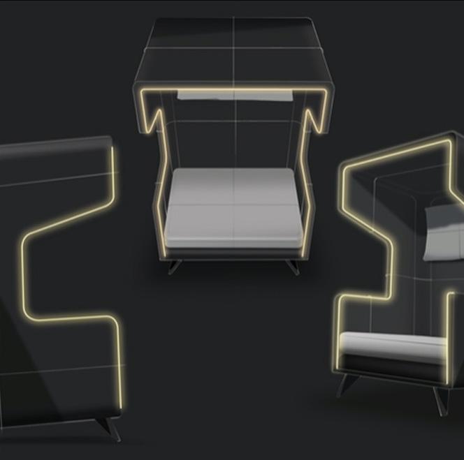 M-Fibre Furniture Feature Lighting